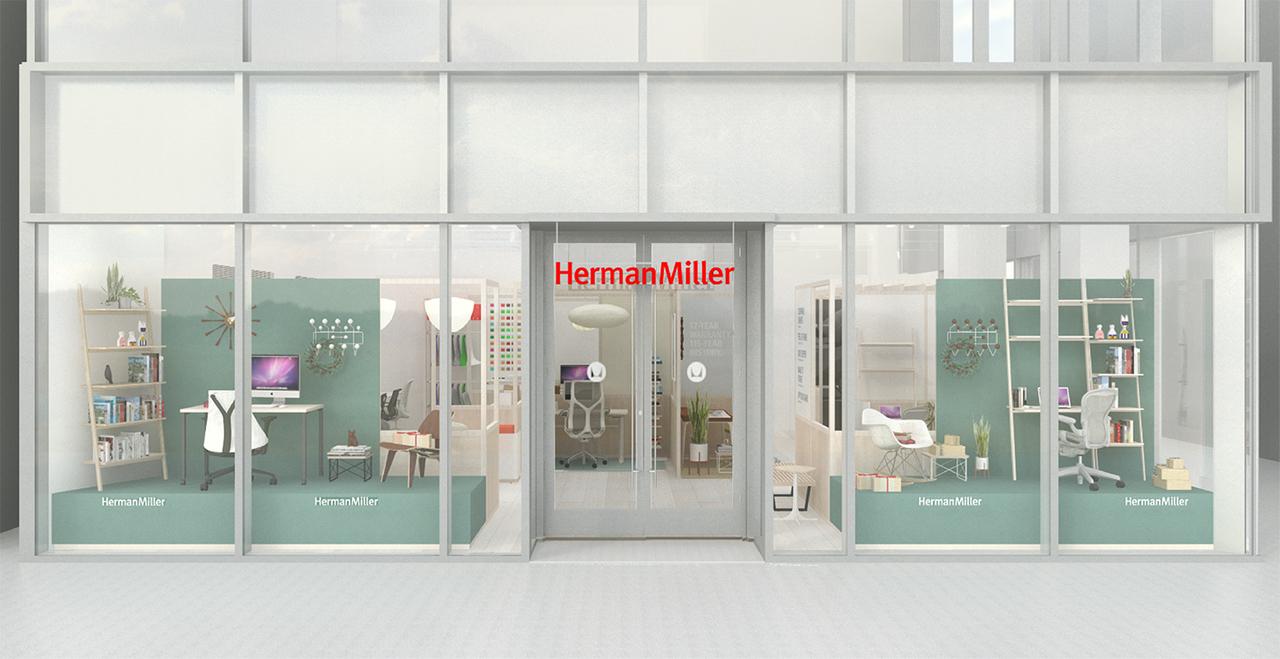 アーロンチェアといえばハーマンミラー。青山の骨董通りにお店ができたってよ