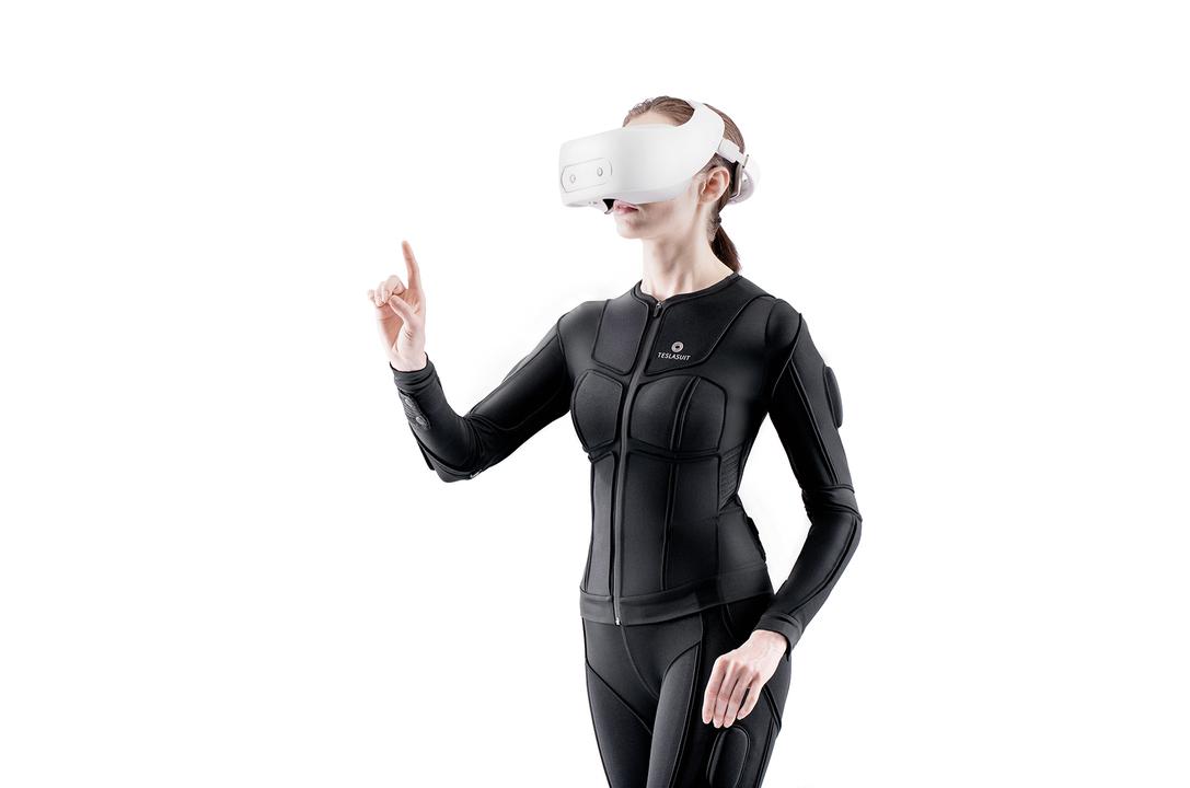 SF映画みたい。全身触覚フィードバックとモーキャプもするVRスーツ「TESLASUIT」