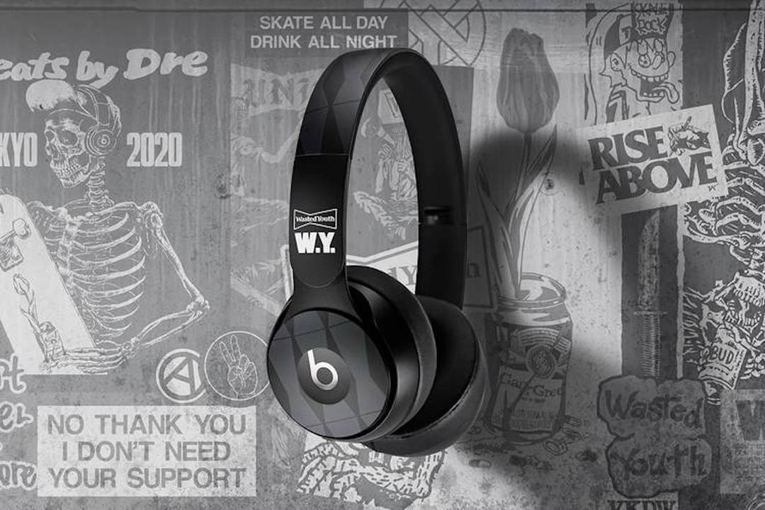 Wasted YouthとBeatsのコラボによるワイヤレスヘッドホン「Solo Pro」が登場