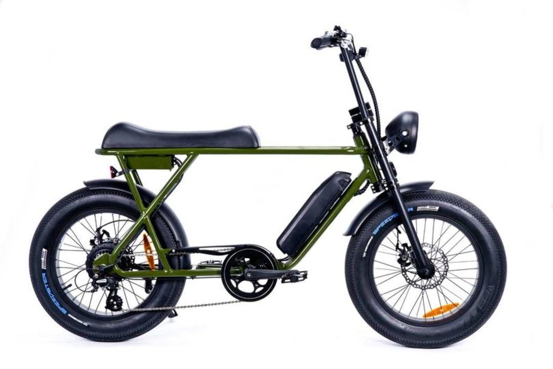 インパクト大! 極太タイヤの電動アシスト自転車「ブロンクス バギー20」が日本で発売