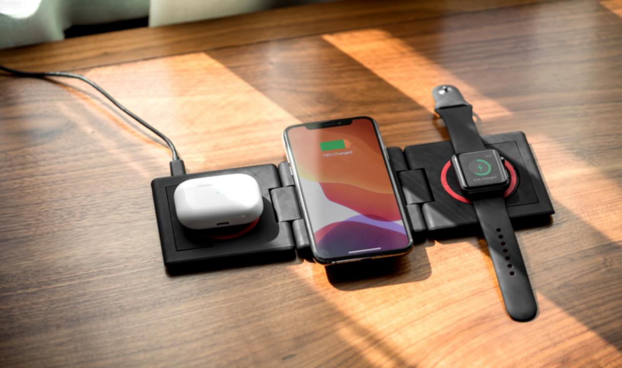 ケーブル1本で3デバイスの無線充電ができる「UNRAVEL」の先行販売が終了間近