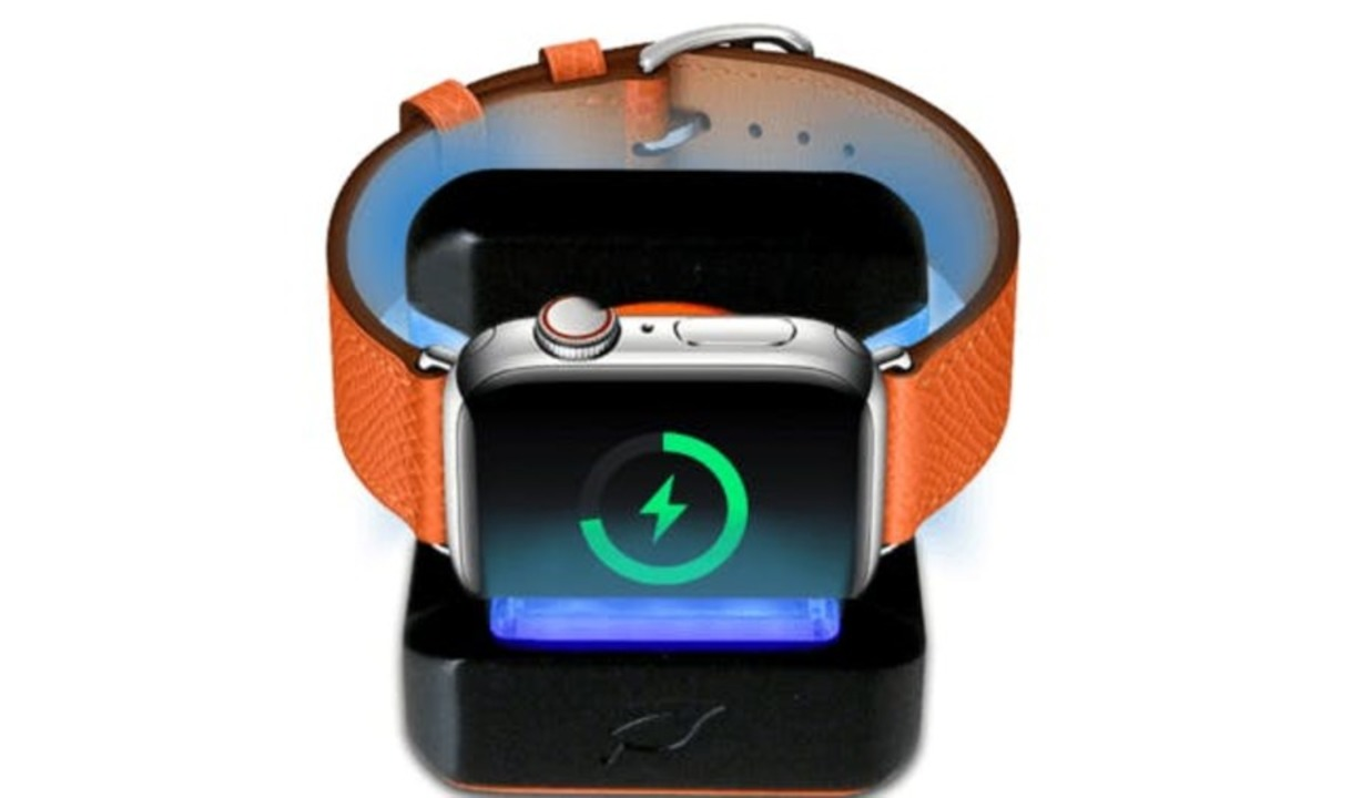 Apple Watchをいつも清潔に! 置くだけ簡単除菌ができる充電スタンドの先行販売が終了間近