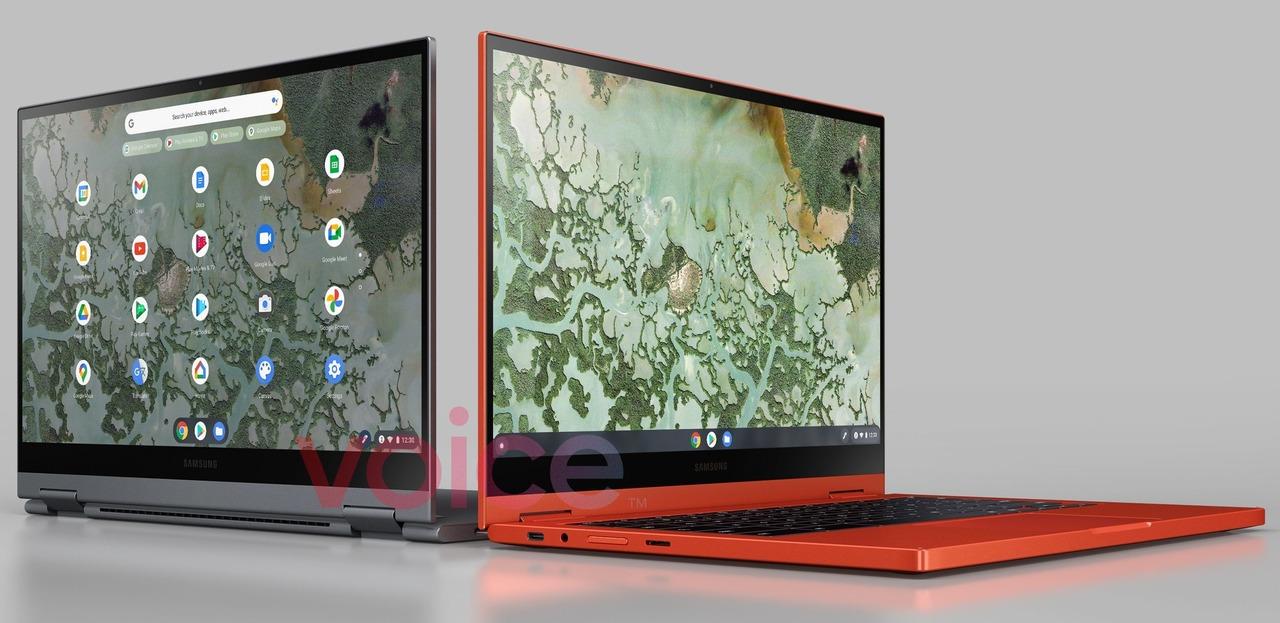 オレンジかわいい!サムスンの新作Chromebookの画像がリーク