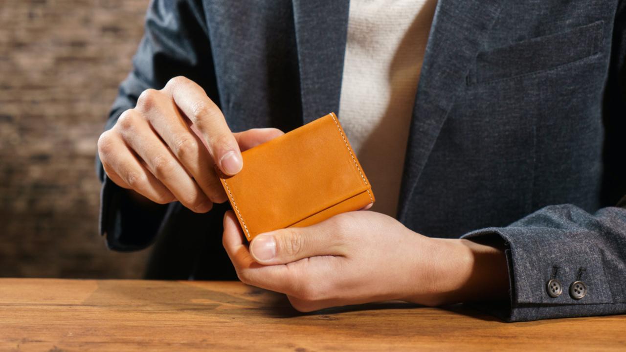 小ささと収納力の両立! 国産本革を採用した小型財布のキャンペーンが終了間近