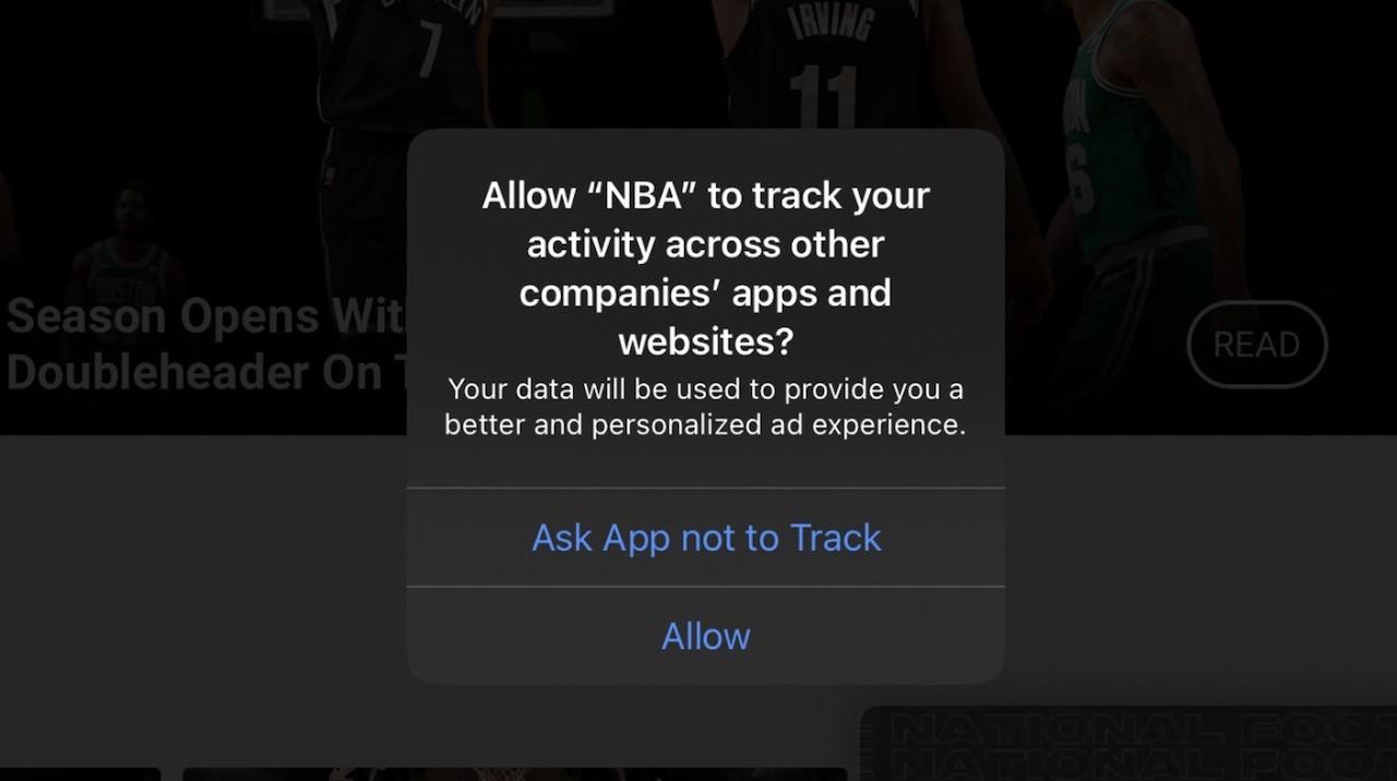 iPhoneに表示される「トラッキングの許可」ボタンってなに?