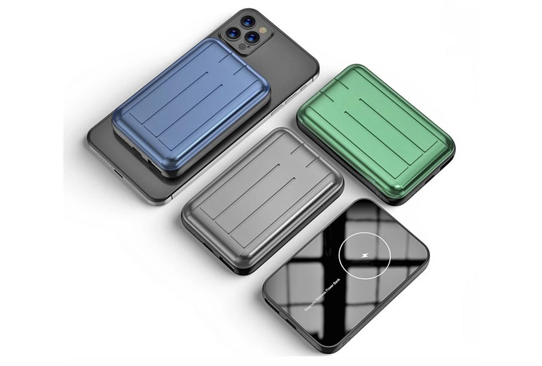 MagSafe対応モバイルバッテリーが便利そう