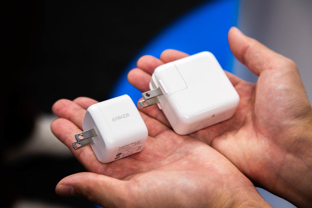 アップルの充電器、さすがにそろそろ小さくなりそう