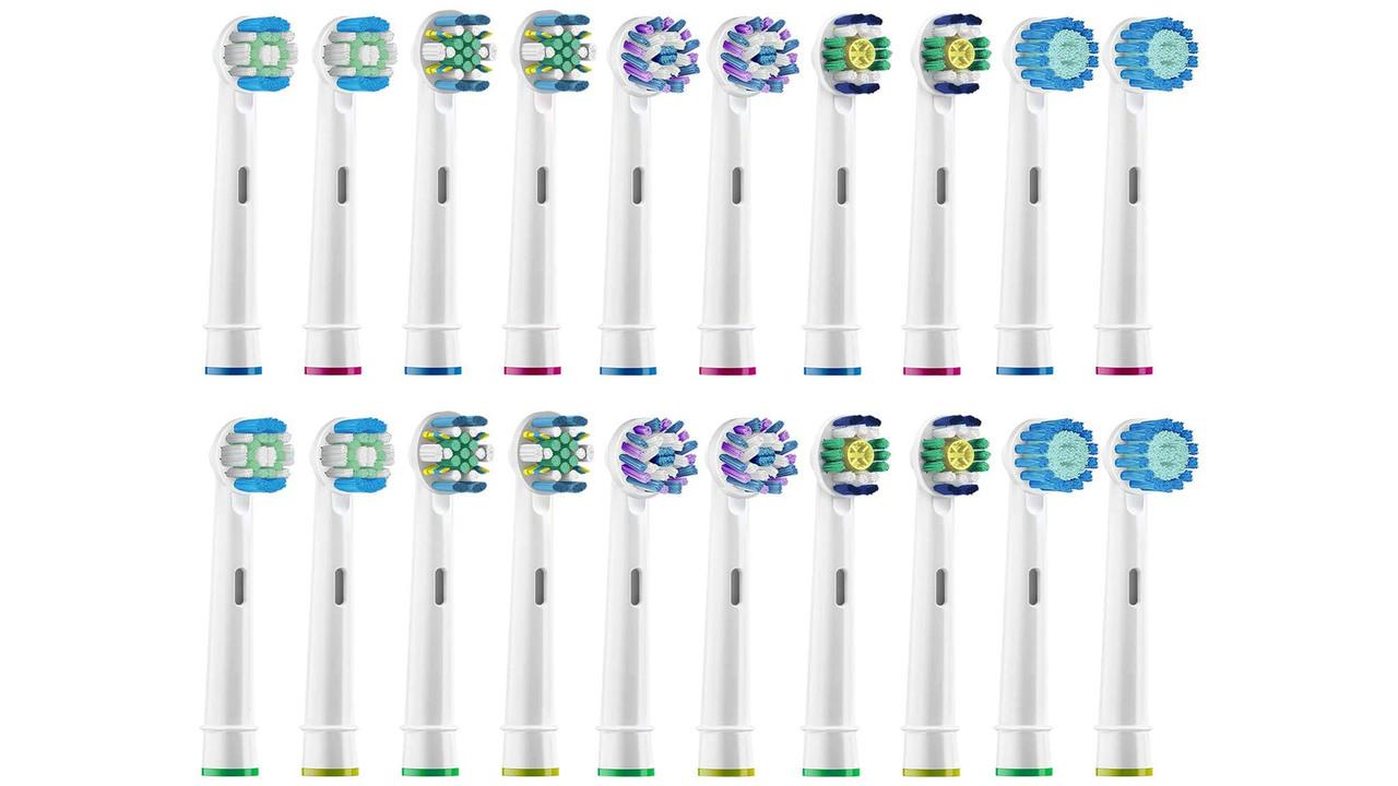 電動歯ブラシの替えブラシって、もうコレでいいのかも?「互換替えブラシ」が20本で1,695円
