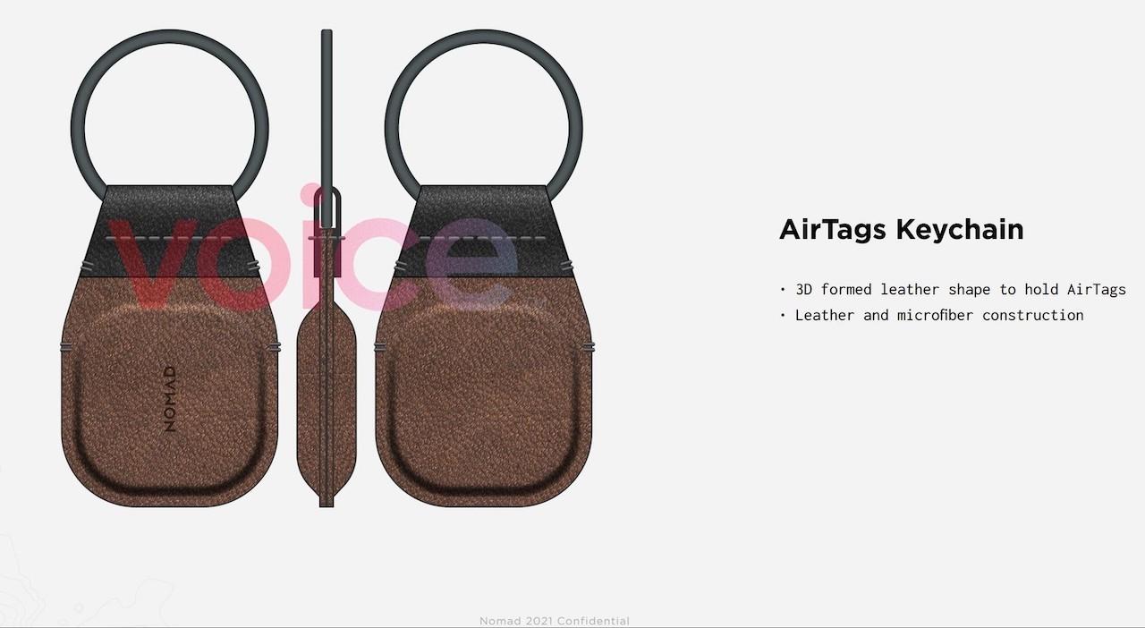 Appleの忘れ物防止タグ「AirTags」のアクセサリ画像が流出。メガネホルダーもあるって