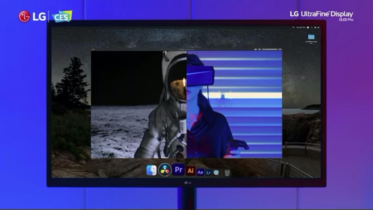 LGからOLED版「UltraFine Display」が発表。プロ向けのやべー感じのやつ #CES2021
