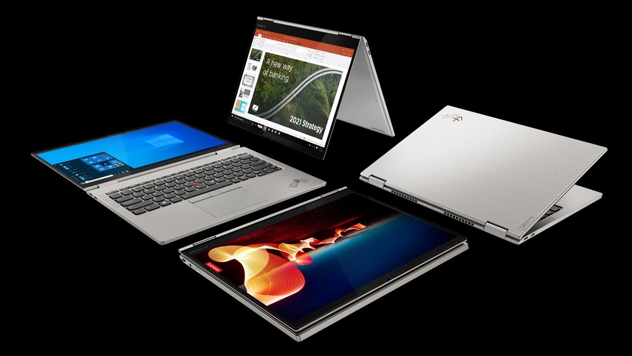 たったの11ミリ! 2-in-1端末「ThinkPad X1 Titanium Yoga」はThinkPad史上最薄 #CES2021
