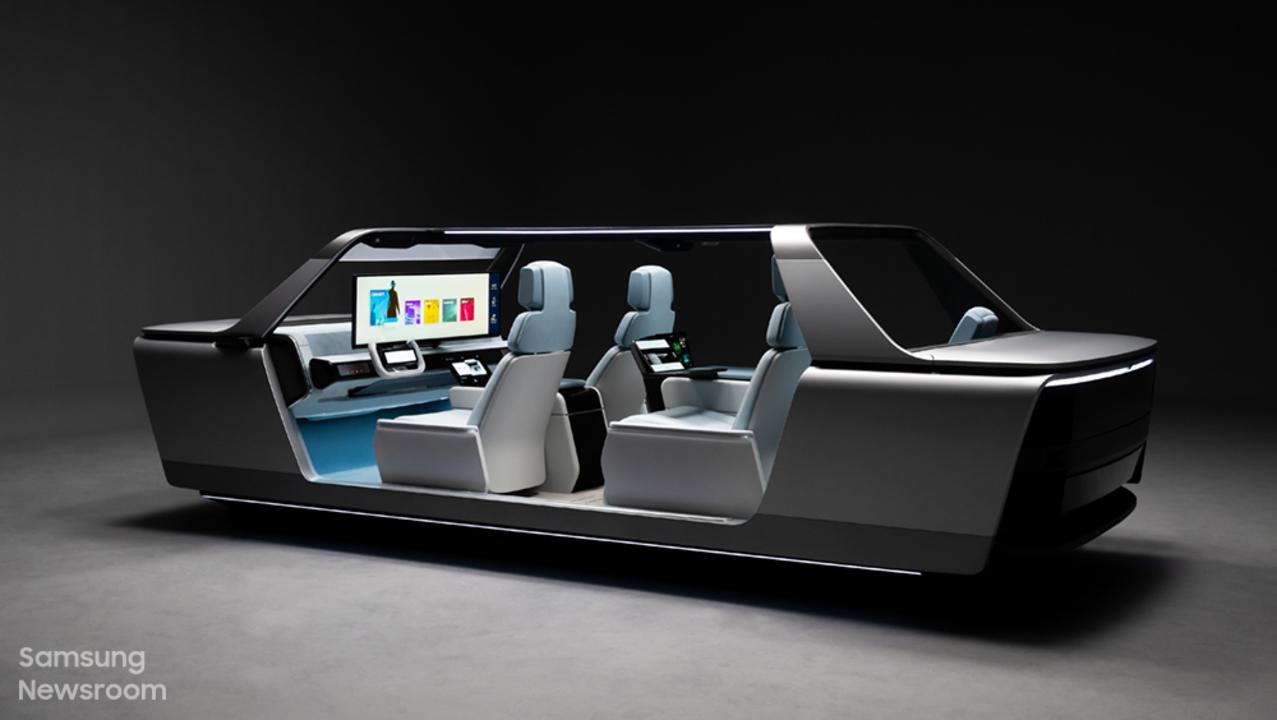 クルマの中で暮らせそう。サムスンのコンセプトカー「デジタル・コックピット」 #CES2021