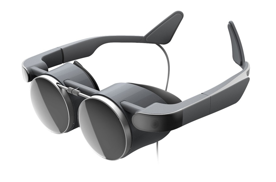 ゴーグルじゃなく丸メガネ。スチームパンク風味なパナソニックのVRメガネ #CES2021