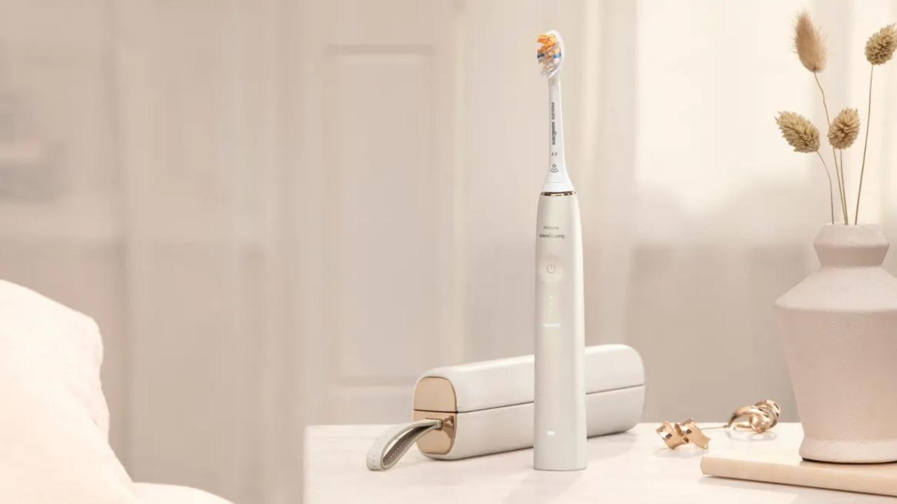 フィリップスの次世代スマート電動歯ブラシ。強く優しく磨いてくれます。 #CES2021