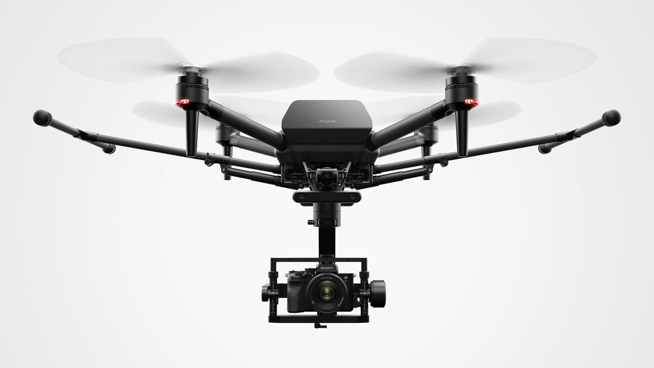 ソニーのドローン「Airpeak」はαカメラを空へと誘う #CES2021