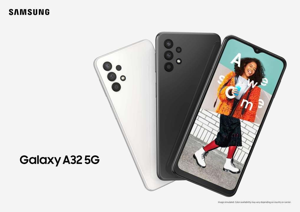 Samsungがお手頃スマホ「Galaxy A32 5G」発表。良バランスのスペックにデザインもよし! #CES2021