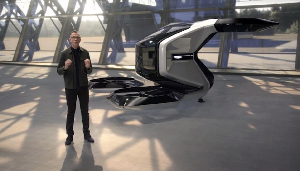 航空業界に参入? キャデラックのeVTOL、機体デザインが先進的 #CES2021