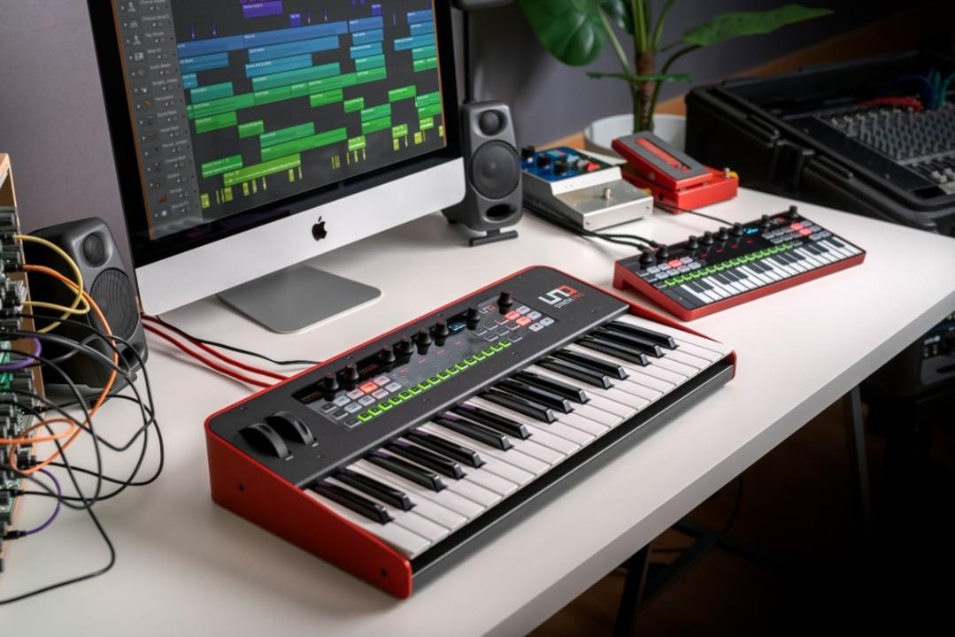 本格さと使いやすさをダブル提案。IK Multimediaからアナログシンセ「UNO Synth Pro」が登場