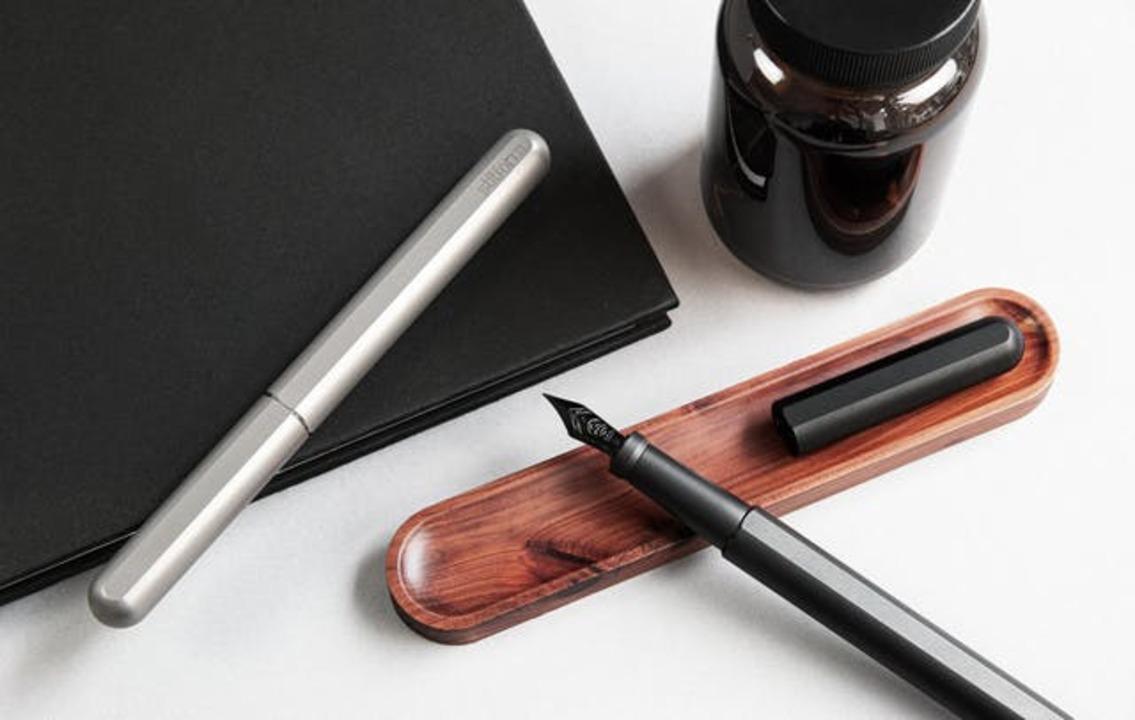 海外クラファンで累計2億円を調達。ドイツ発のチタン製万年筆「INK Titanium」