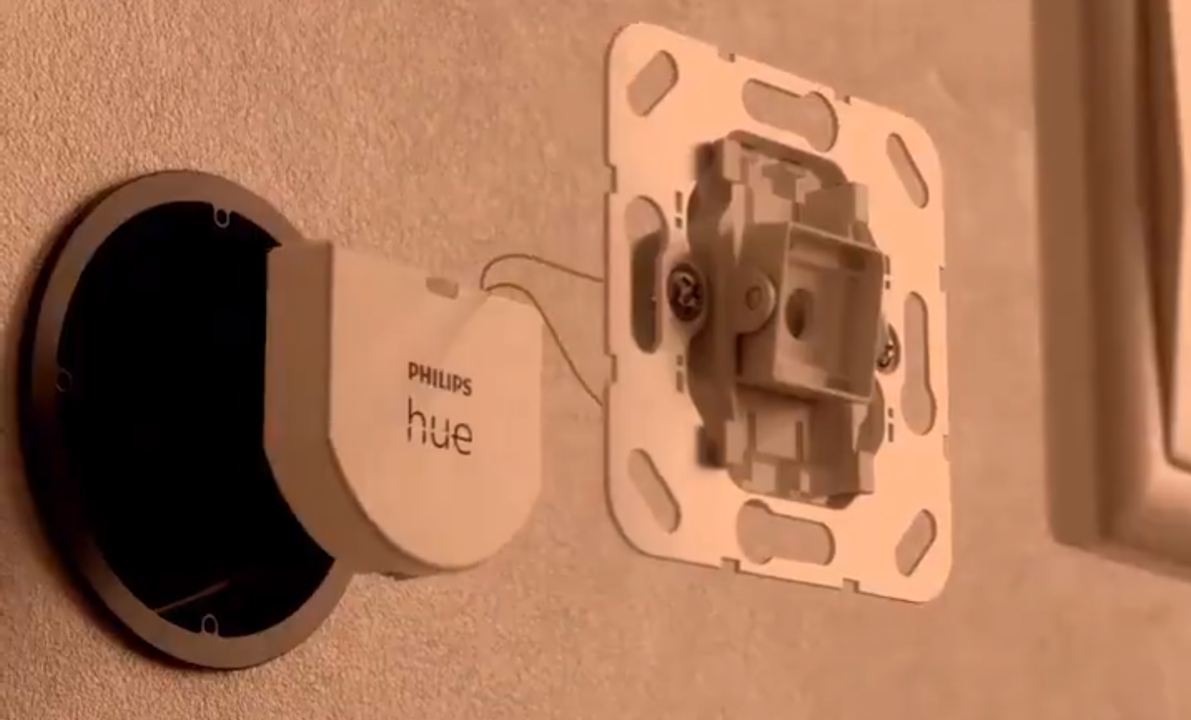 Philips Hueからスマート壁スイッチ「Wall Switch Module」が登場