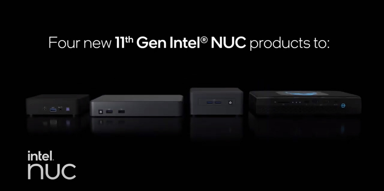 インテル、第11世代プロセッサ搭載のNUCをこっそりローンチ