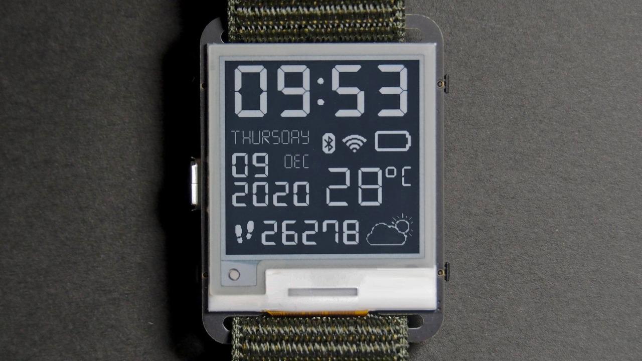 これはPebbleを思い出す…オープンソースのスマートウォッチ「Watchy」