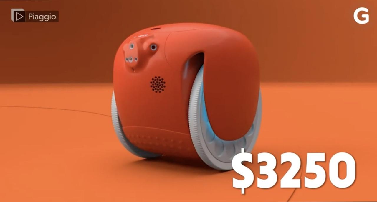お買い物ロボットGitaレビュー:30万円かぁ...