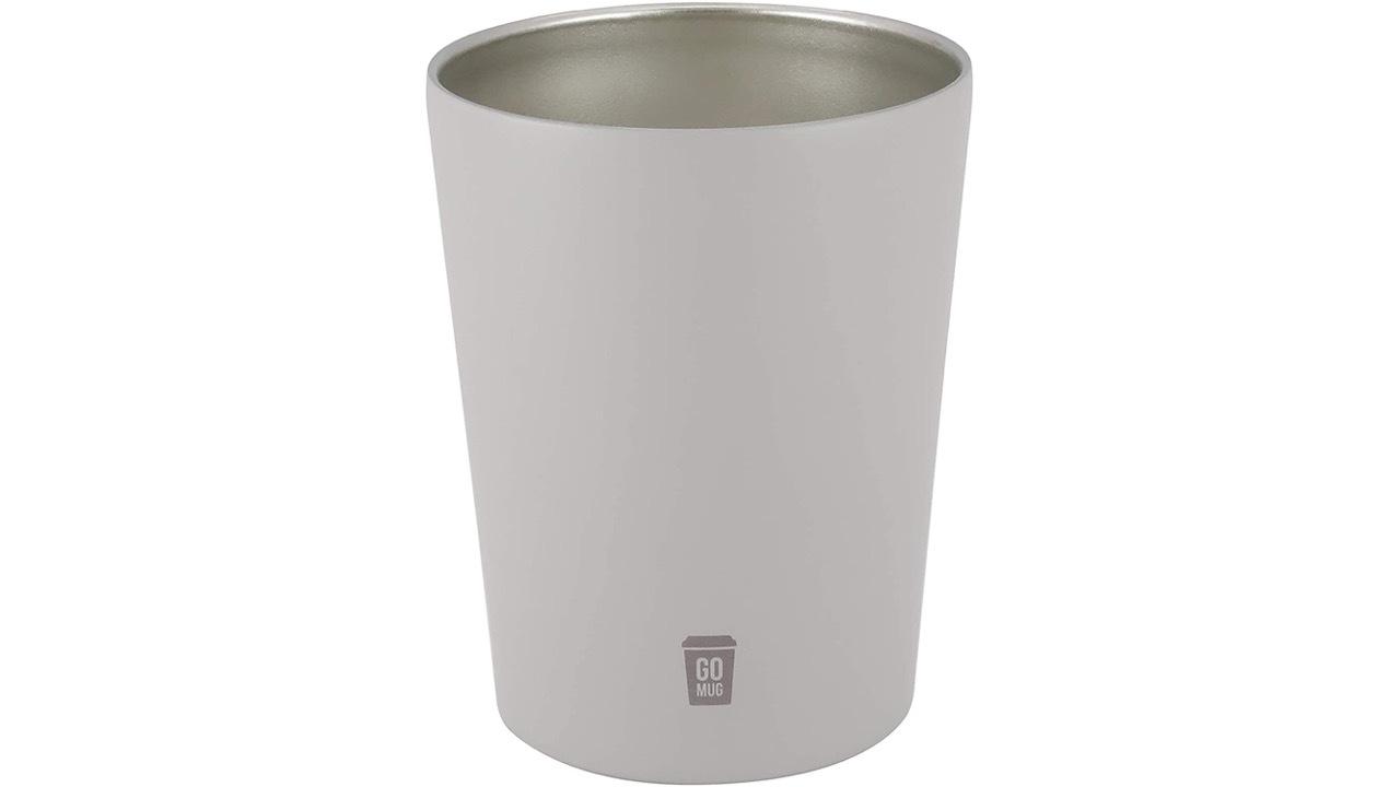 コンビニのコーヒーがカップごとすっぽり入る保温マグ「GO MUG」