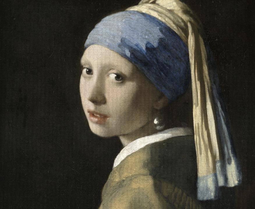 『真珠の耳飾りの少女』を100億画素で見ると、目の光にますます吸い込まれそう