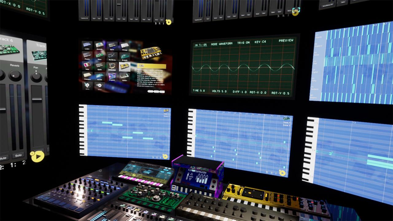 音楽制作ソフト「KORG Gadget」がOculus Quest 2で遊べるかもしれない…!?