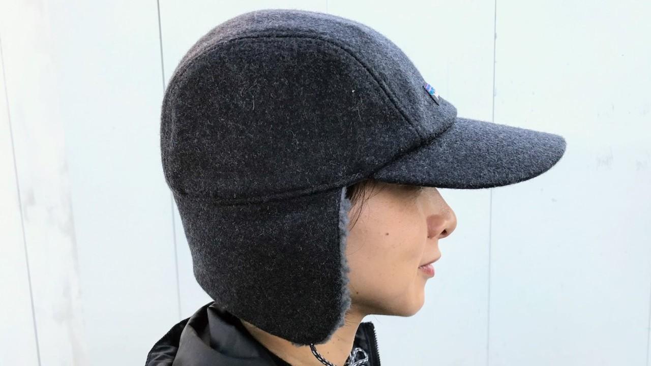 耳も首もあったかい…パタゴニアの防寒キャップが、自転車の寒さ対策に最強です