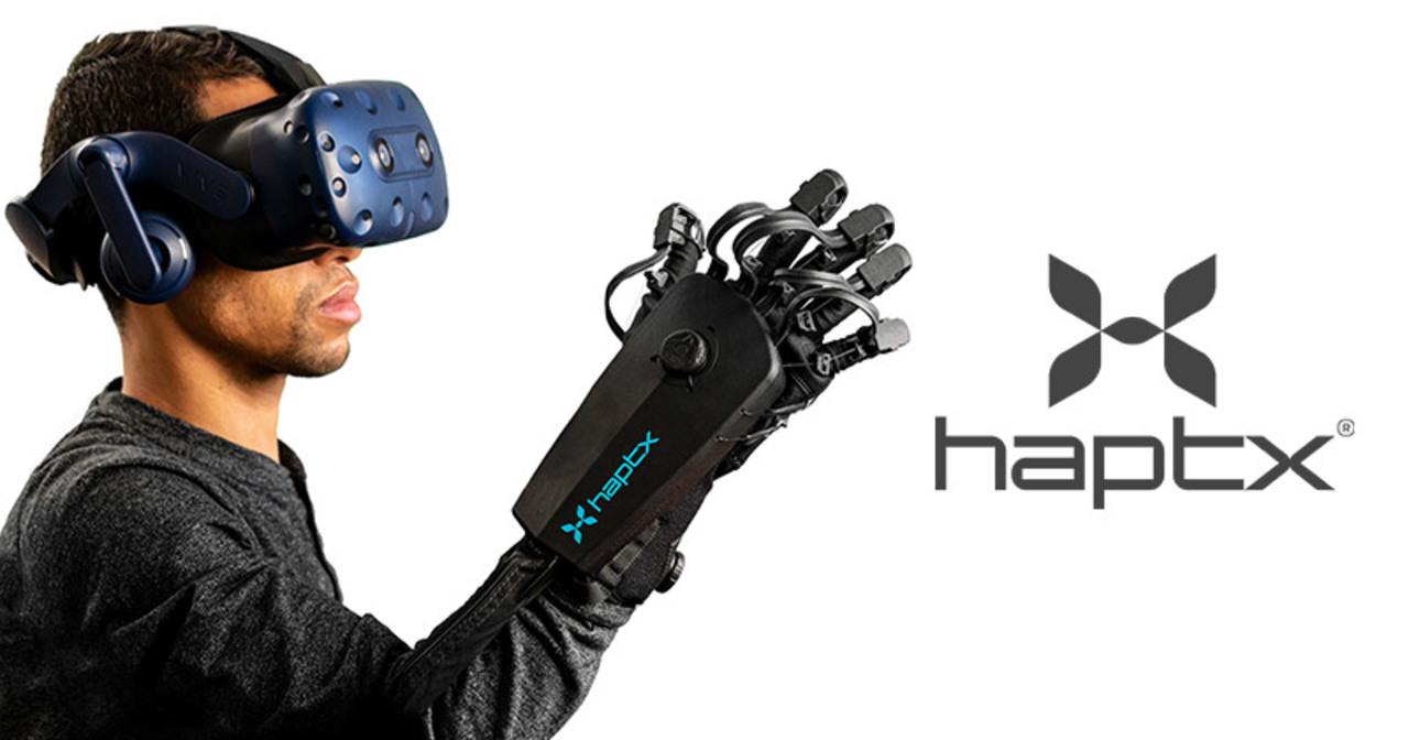 VRの世界に手触りをもたらす「HaptX Gloves DK2」