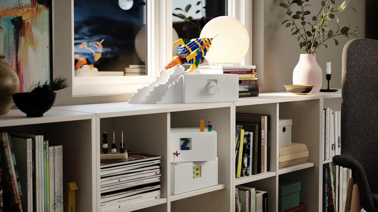 IKEA×レゴのワクワクコラボがおくる、飾って遊べる収納システムが発売!