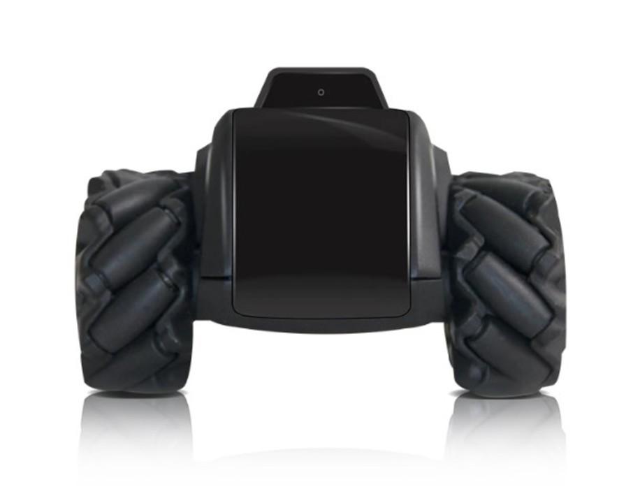 家の中をパトロール。手のひらサイズでごっついホイールの自律型セキュリティー4輪ロボ