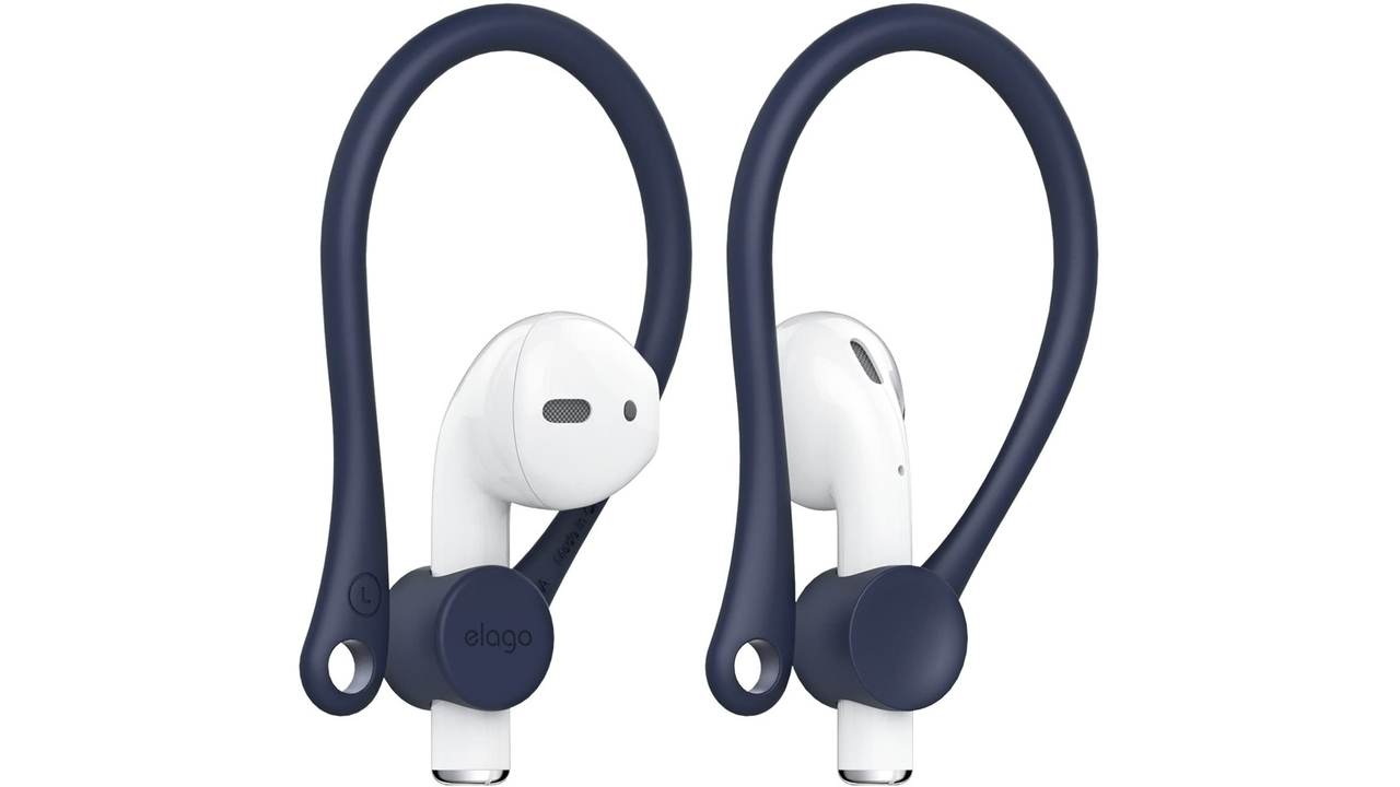 AirPods対応、完全ワイヤレスイヤホンを耳に掛けられるホルダー。カラバリ豊富で使えそう