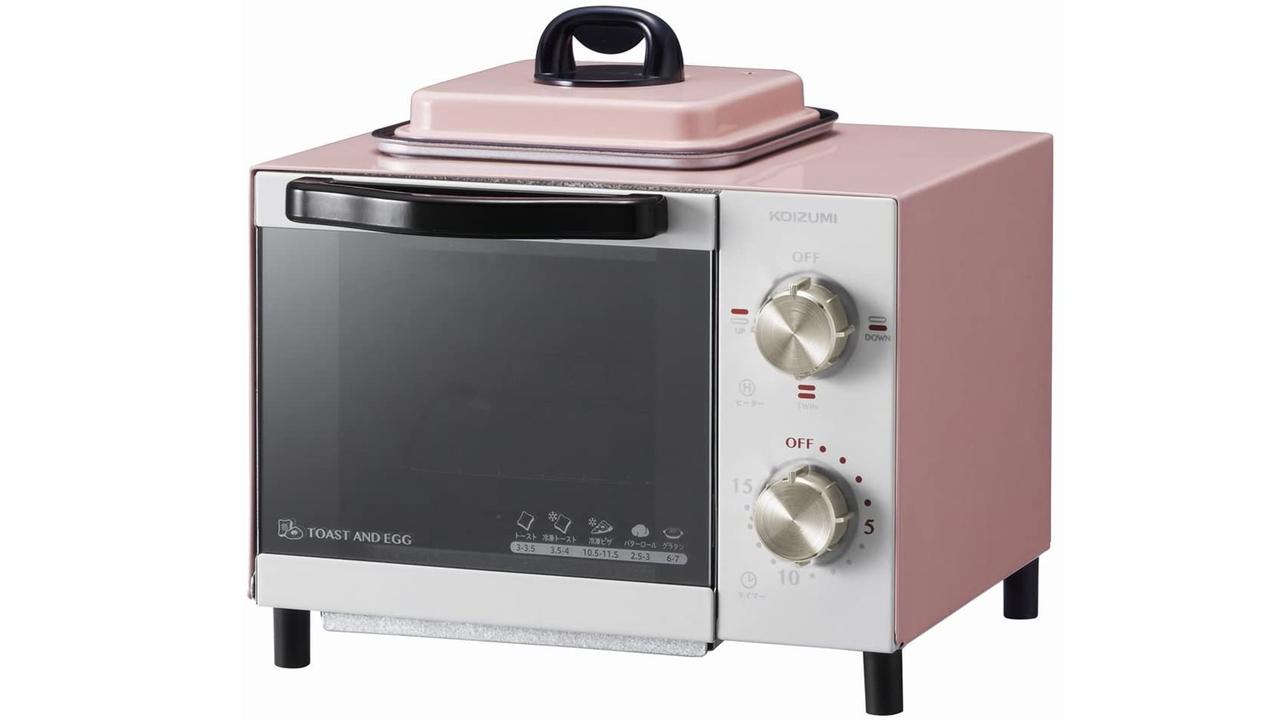 トーストと目玉焼きを同時に作れるソリューションがこちらです