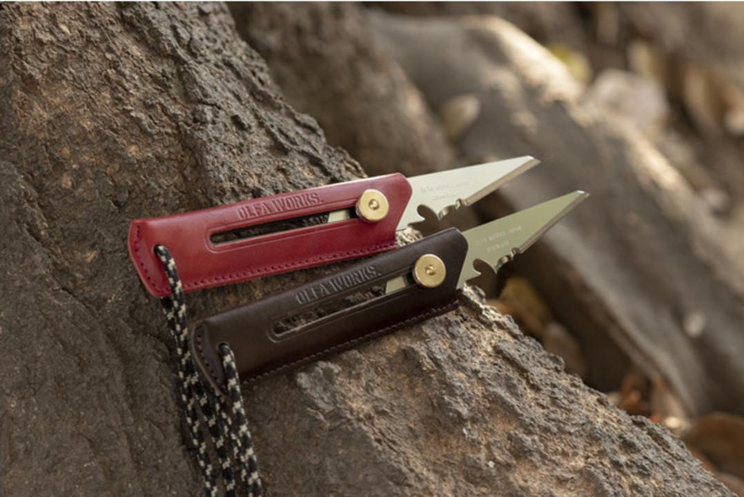 キャンプの相棒に。オルファからレザーグリップのブッシュクラフトナイフが数量限定で登場