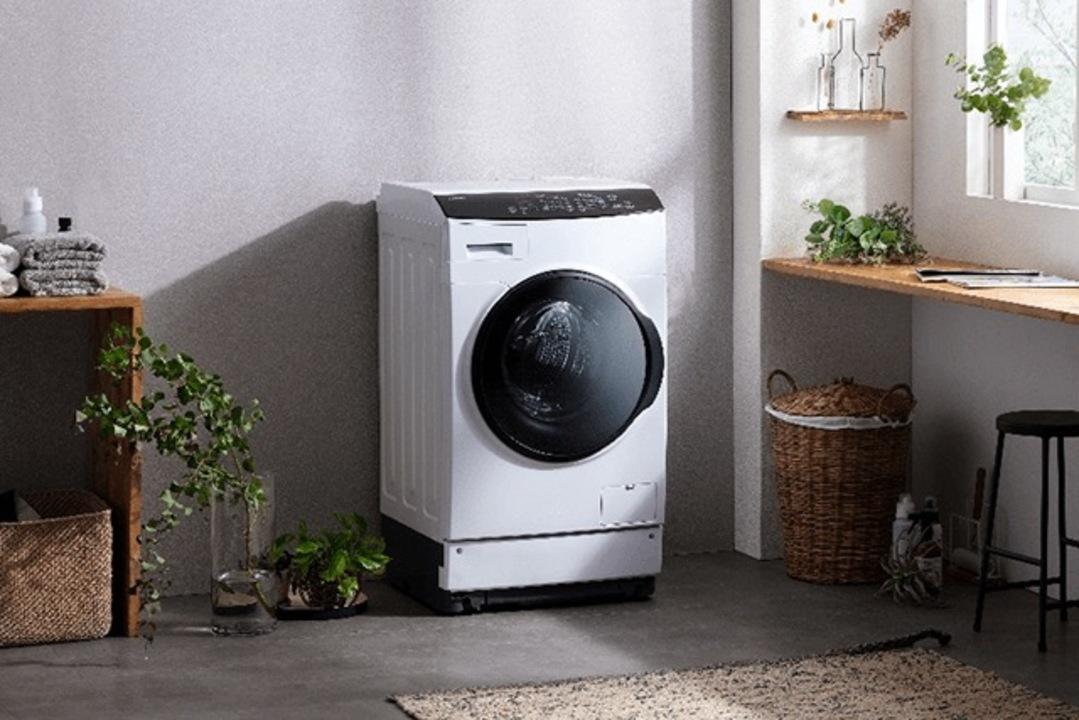 アイリスオーヤマのドラム式洗濯機、ついに「乾燥」対応。しかも洗濯ジワを抑えられる
