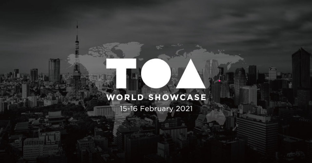 今年はオンライン開催! 豪華スピーカーが登壇するテックカンファレンス「TOA」で日常を再発明しよう
