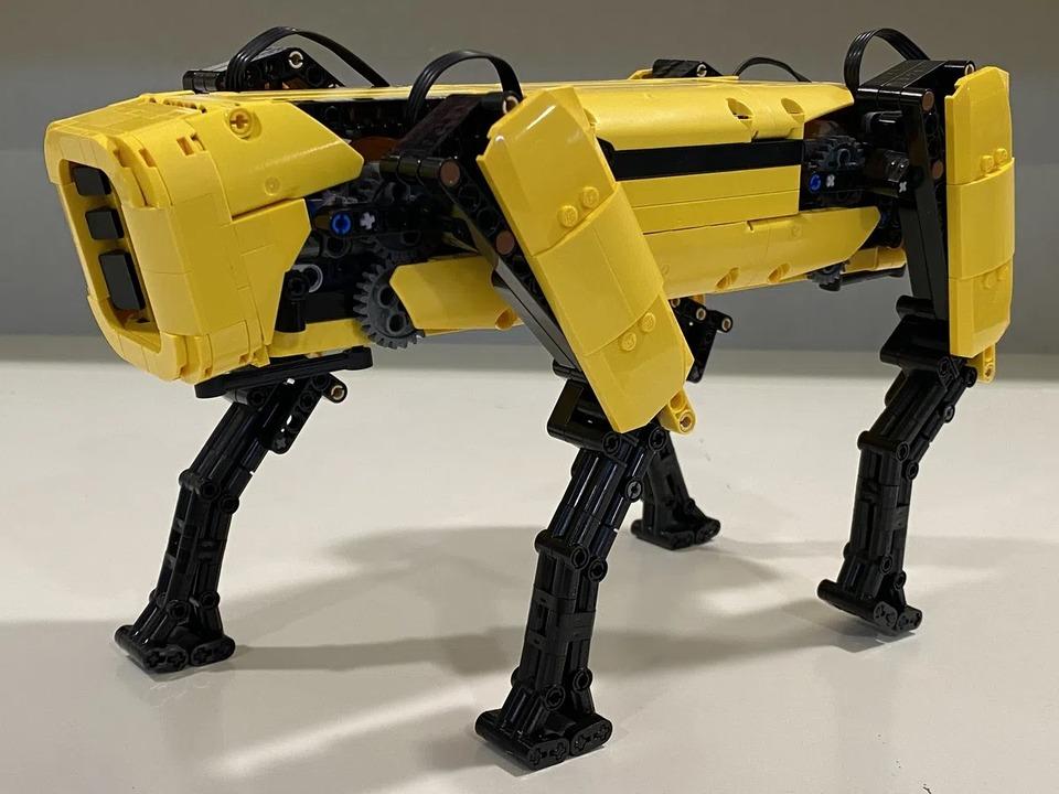 支援すれば市販化のチャンスも。LEGO IDEASに1/4スケールの「Spot」登場