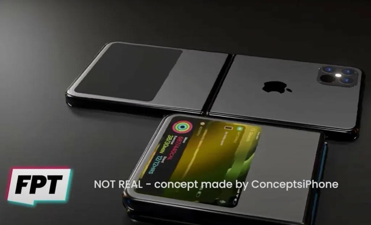 折りたたみiPhoneは縦折りタイプで多色展開?