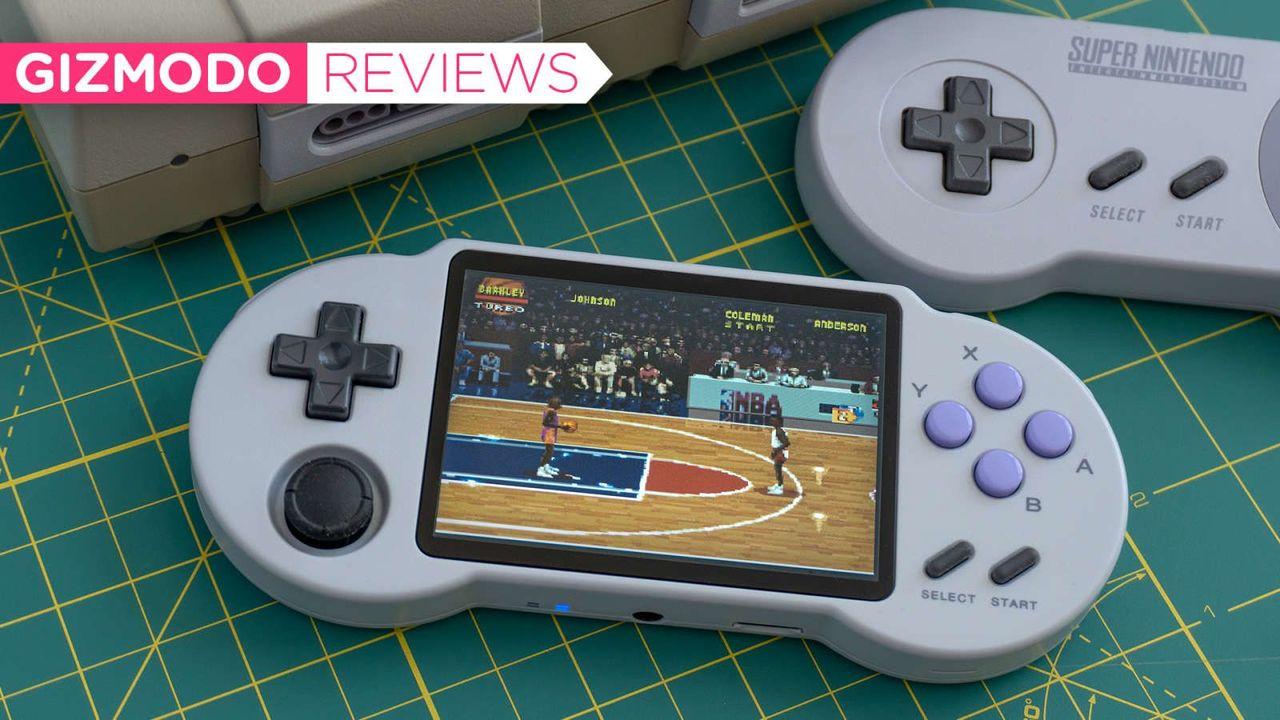 PocketGo S30レビュー:すごく敷居の低いレトロゲームエミュレーター