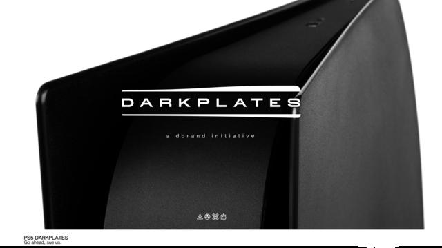 PS5を黒に染めるプレート、ソニーを挑発しつつ販売中