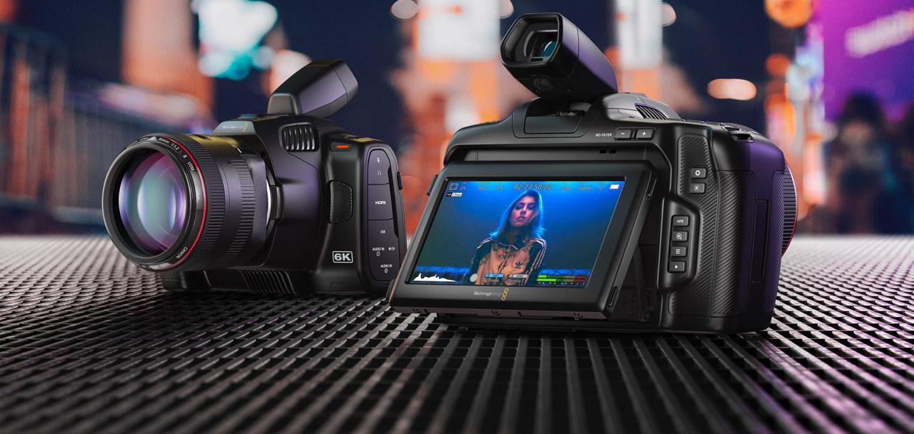 電動NDフィルターが嬉しい。新シネマカメラ「Blackmagic Pocket Cinema Camera 6K Pro」