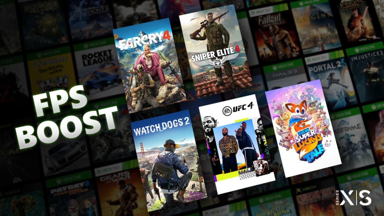 ブーストON! Xbox Series X | Sに過去ゲームのfps向上機能が追加