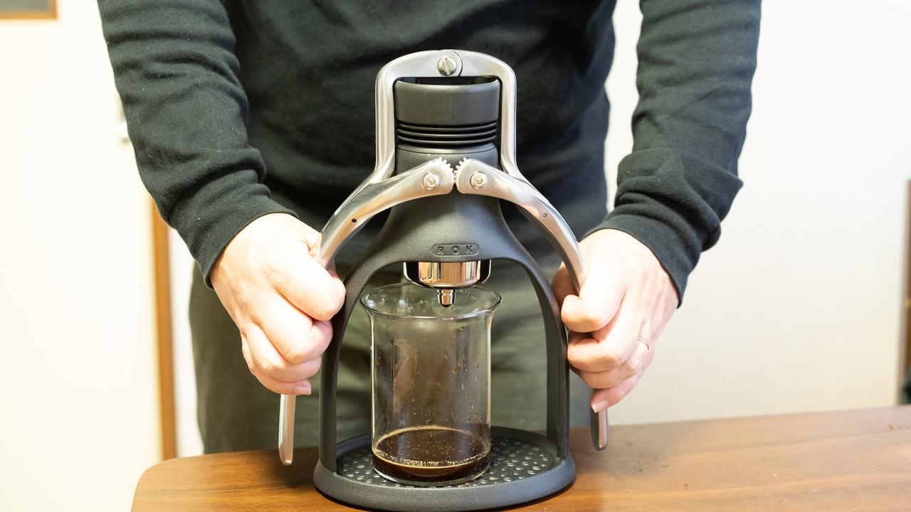 コーヒー好きにはたまらない! 手動エスプレッソメーカーを使ってみた