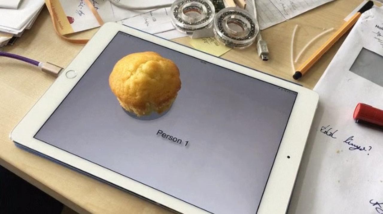 世紀の発見! iPadのタッチ画面でマフィンの識別に成功