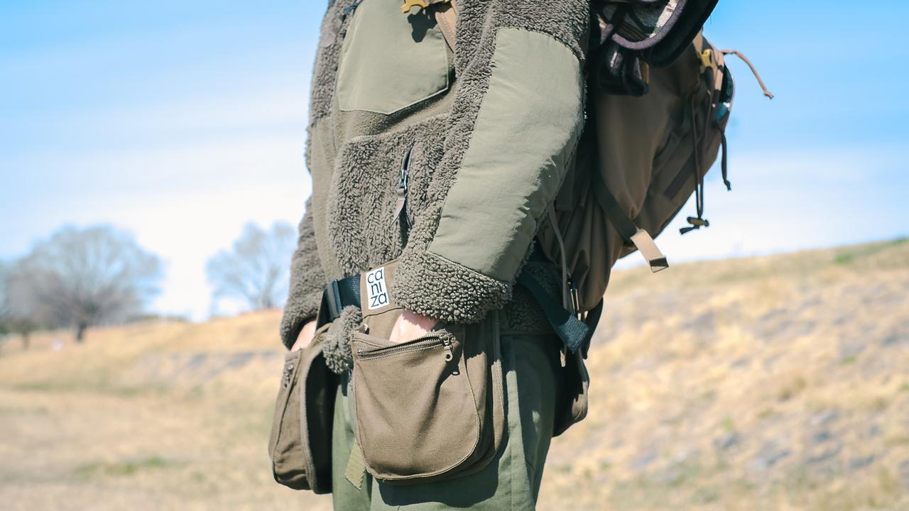 アウトドアにも使い勝手良し! ポケットを増やす発想のユニークなバッグ「inou」を使ってみた