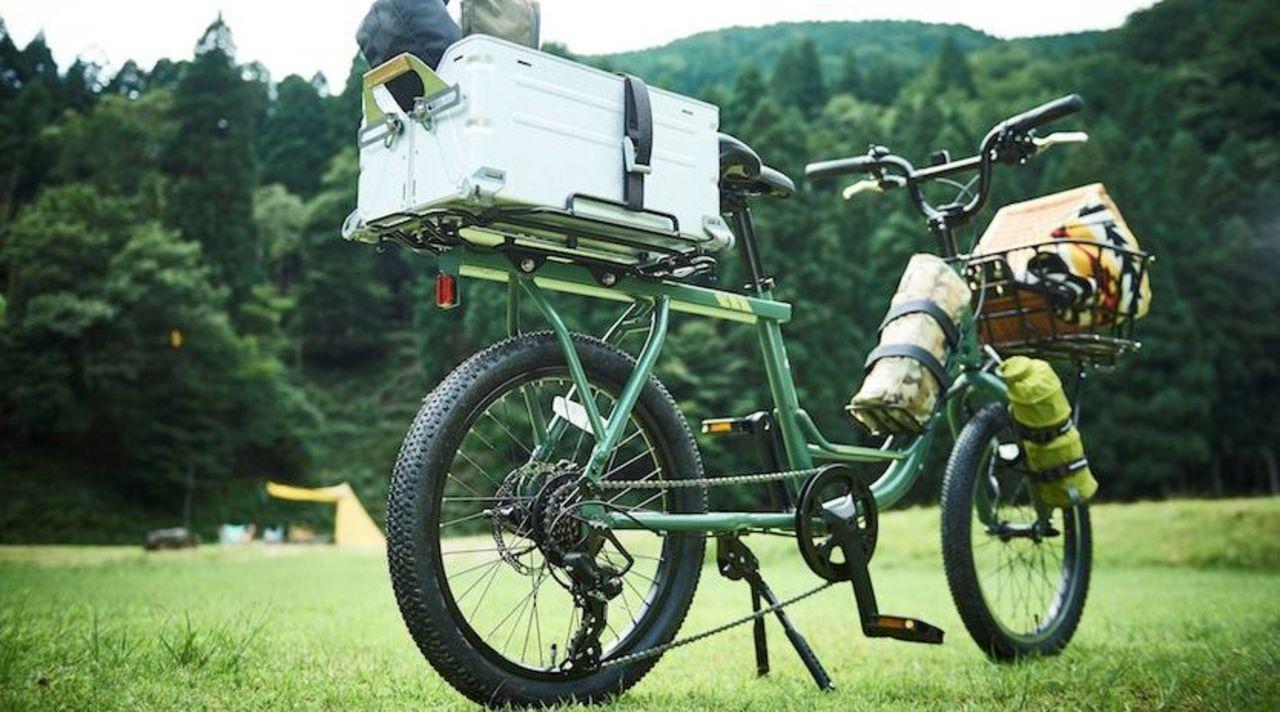 5万円以下で積載量がすごいアウトドア向け自転車、日本の大手自転車メーカーから