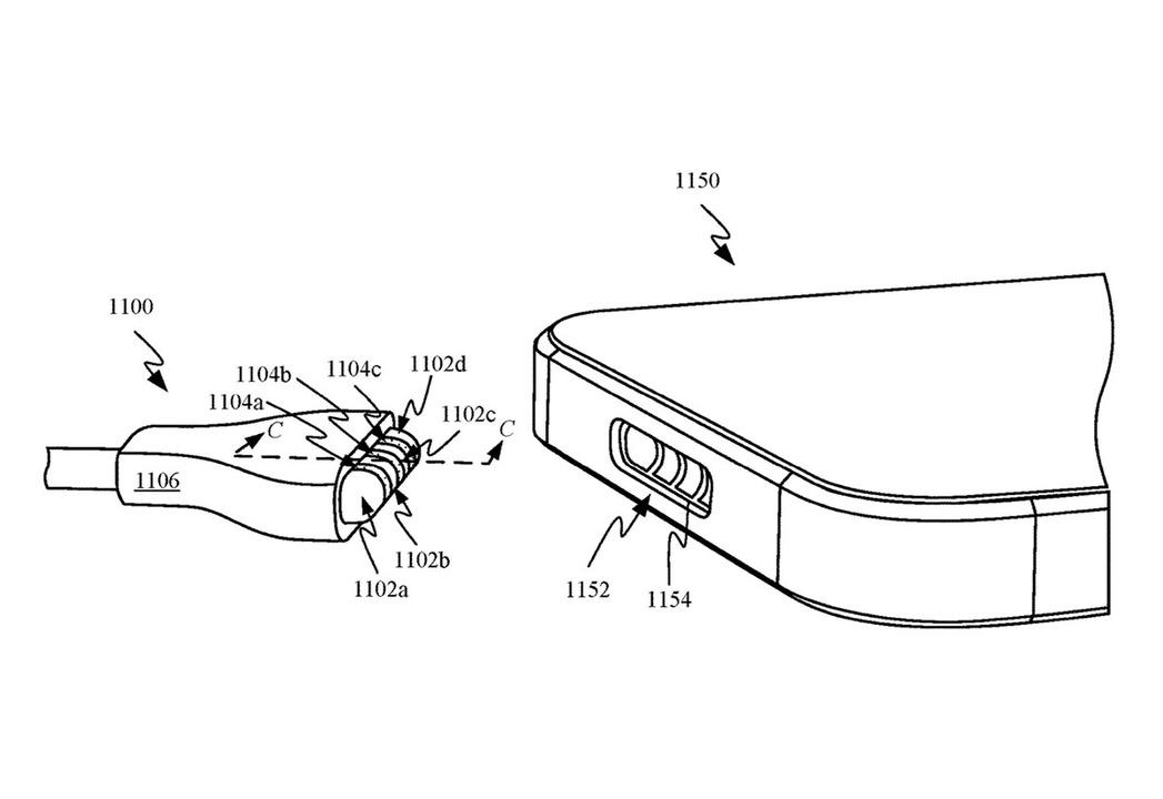 iPhoneの電源コネクタがマグネット化したら便利かも?